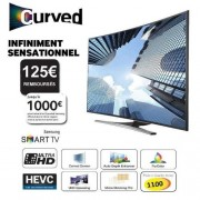 SAMSUNG UE55JU6500 Smart TV UHD 4K Curved 138cm