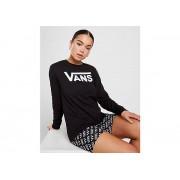 Vans Flying V Long Sleeve Boyfriend T-Shirt Dames - Black - Dames