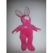 Salvinos Bamm Bunnies Ken Griffey Jr. # 24 Hot Pink Plush Bean Bag Bunny Issued April 1999