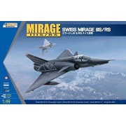 Kinetic 1:48 Swiss Dassault Mirage IIIS/RS Plastic Model Kit #K48058