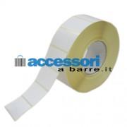 Etichette adesive in carta Vellum 60 x 40 mm per stampanti Industriali a trasferimento termico (ribbon necessario)