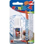Fluid corector, Carioca, 13 ml, aplicator cu pensula