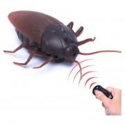 Tricky Divertido Juguete De Control Remoto Por Infrarrojos Scary Creepy Cucaracha, Tamaño: 7,5 * 14cm