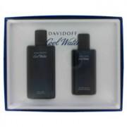 Davidoff Cool Water 4.2 oz / 124 mL Eau De Toilette Spray + 2.5 oz / 74 mL After Shave Splash Gift Set Men's Fragrance 461515