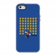 Nintendo Funda móvil Nintendo Super Mario Monedas para iPhone y Android - iPhone 5/5s - Carcasa doble capa - Mate
