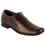 Goosebird Men's Pure Leather Formal Shoes Office Shoes