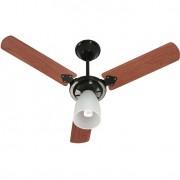 Ventilador Marbella 220V 3P Cvm New Preto 138,7W Teto PRETO/MOGNO