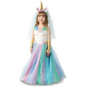 Princess Lovely Lady Unicorn Dress Child'S Costume, X-Large