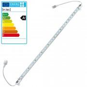 [in.tec] Tira de luz LED aluminio - 1 x 50cm - 7,2W - 30 SMD - blanca fría