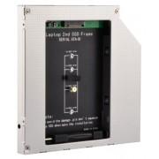 "A-SATA95M2-01 Gembird Fioka za montazu NGFF(M.2)SSD (do 9,5mm) u 5.25"" leziste u Laptop umesto opti"