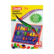 Tabla Magnetica Cifre Basic Quercetti, 48 piese, 3 ani+