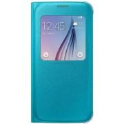 Husa tip S-View Samsung EF-CG920P pentru Galaxy S6 G920 (Albastra)