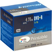 DVD+R4,7 INT10P - Intenso DVD+R 4,7GB, SlimCase, printable
