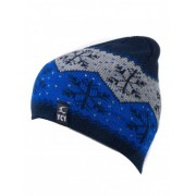 Мъжка зимна шапка със снежинки