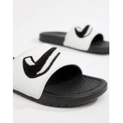 Nike Белые шлепанцы Nike Benassi JDI AO2805-001 - Белый