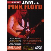 Roadrock International Lick Library: Jam With Pink Floyd DVD, CD