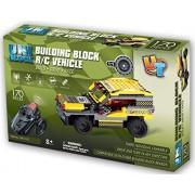 Uni Block Remote Controlled Rc Building Block Jeep Suv Compatible With Lego Bricks (Jeep 170 Pcs.)