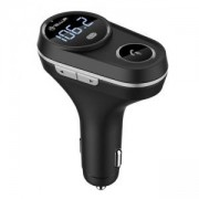 FM трансмитер за кола Tellur Bluetooth Car FM Transmitter FMT-B5, Black, TLL622041
