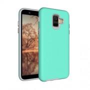 Anti-slip Armor Texture TPU + PC Case for Samsung Galaxy A6 (2018)(Green)