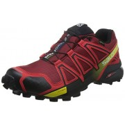 Salomon Men's Speedcross 4 GTX Trail Running Shoes Brique / Radiant Red 9