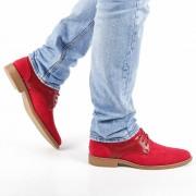 Мъжки обувки Reuben червени