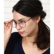 メタルフレームボストン眼鏡