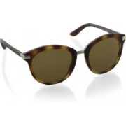 DKNY Oval Sunglasses(Brown)
