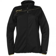 Kempa Damen-Trainingsjacke GOLD - schwarz/gold | XL