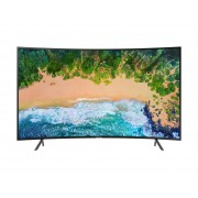 Televizor LED Curbat Samsung 55NU7302, 138 cm, Smart, 4K UHD, HDMI, Wi-Fi, Negru