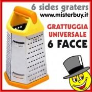GRATTUGIA UNIVERSALE 6 FACCE