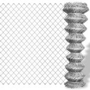 vidaXL Поцинкована телена мрежа, 25 x 1,25 м