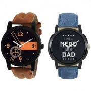 AKAG Combo Deals Analog Watch For Men And Boys - AK-BN-DD-01