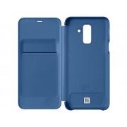 Samsung Booklet Samsung Wallet Cover Passar till modell: Samsung Galaxy A6+ (2018) Blå