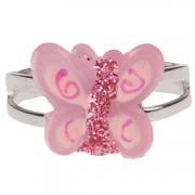 Ringetje vlinder roze