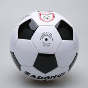 Balón De Fútbol PVC Para Formación Nº 5 - Blanco Y Negro