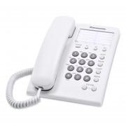 Teléfono Alámbrico Panasonic KX-TS550MEW Blanco Básico