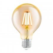 EGLO 11556 | E27 4W -> 30W Eglo velika kugla G80 LED izvori svetlosti filament 330lm 2200K 360° CRI>80