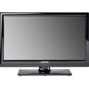 """Telefunken B20H342A LED-TV 51 cm 20 """" EEK A+ DVB-T2, DVB-C, DVB-S, HD ready, DVD-Player, CI+ Svart"""