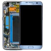 Ecran Display Samsung Galaxy S7 Edge G935f, Blue Coral, Original cu rama