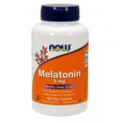 Melatonina 5mg 180 Caps NOW Foods
