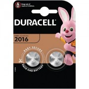 Duracell DL2016 Coin Cell Battery - 2 Pack (DL2016B2)