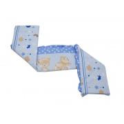 MamaKiddies Sofie Dreams 180°-os kék rácsvédő macis mintával