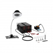 Set Soldering Station with integrated Mains Adapter + Accessoires
