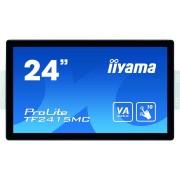 iiyama ProLite TF2415MC-B2 touch screen-monitor 60,5 cm (23.8'') 1920 x 1080 Pixels Zwart Multi-touch Multi-gebruiker