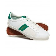 Superdry Vintage Court Trainers White