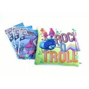 Dreamworks Trolls Rock and Troll Plush Pillow Bundle