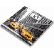 Cantar de sticla Beurer 150 kg LCD model New York