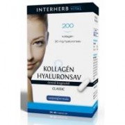 Colagen & acid hialuronic clasic 30cps INTERHERB
