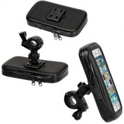 Capeshoppers Weather Resistant Bike Mount mobile holder For TVS Phoenix 125