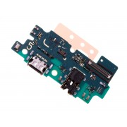 Placa auxiliar com micro, jack, conector de carga USB tipo C para Samsung Galaxy A50 SM-A505F